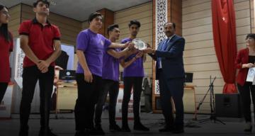"""3. Liseler Arası Genel Kültür Bilgi Yarışması """"Quiz Show"""" Yapıldı"""