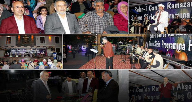 İl Müftülüğü Tarafından Düzenlenen Şehr-i Can'da Ramazan Akşamları Programının İkincisi Yapıldı