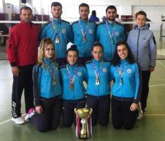 Erzincan Üniversitesi Badminton Takımı Türkiye Şampiyonu Oldu