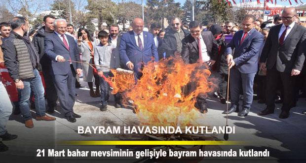 21 Mart Nevruz Şenliği Bayram Havasında Kutlandı