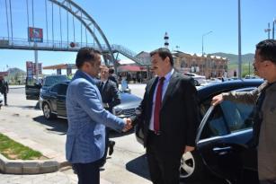 Vali Arslantaş tan Tercan Belediye Başkanı Gültekin e Ziyaret