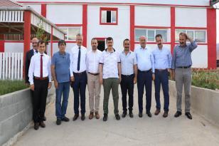 Vali Ali Arslantaş, Milletvekilleri Süleyman Karaman ve Burhan Çakır, OSB'de İncelemelerde Bulundular