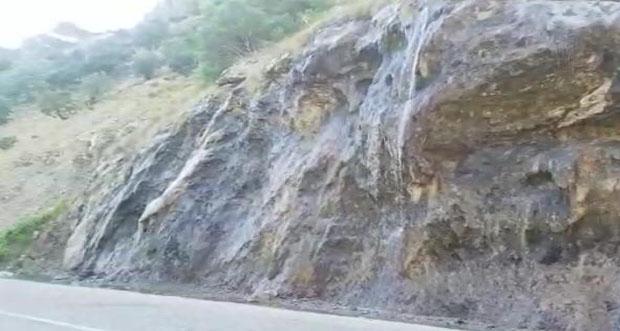 Ağlayan Kayalar Tatilcilerin İlgi Odağı Oldu