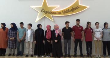 Erzincan'ın Yıldızları Ödüllendirildi