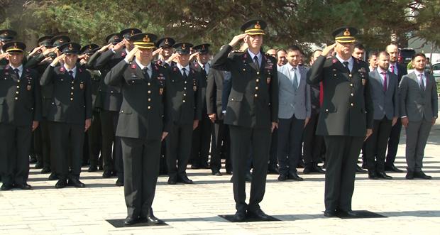 Jandarma Teşkilatının 180. Kuruluş yıl dönümü kutlandı