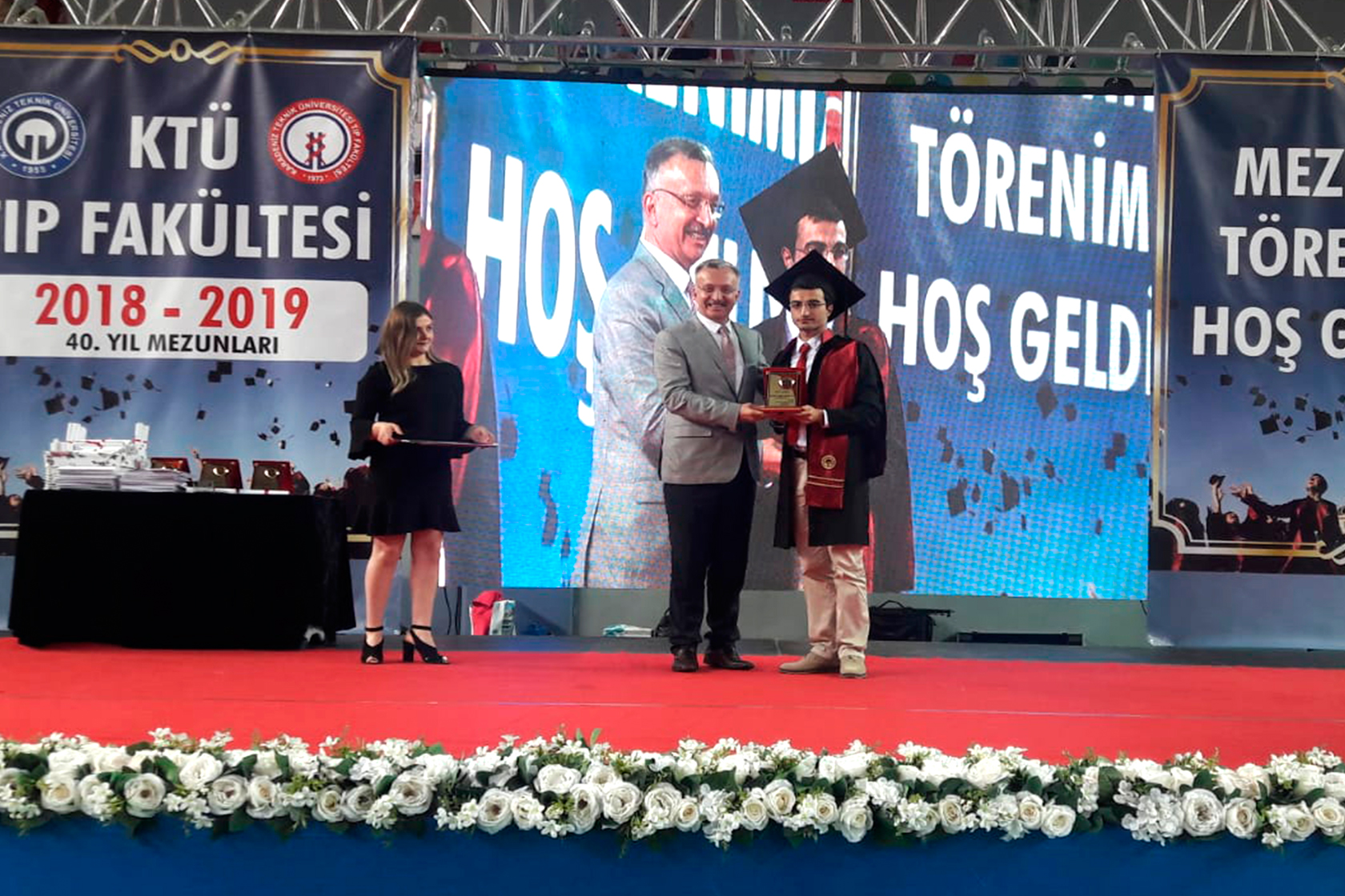 Rektör Prof. Dr. Akın Levent, Bayburt Üniversitesi ve KTÜ Rektörlerini Ziyaret etti