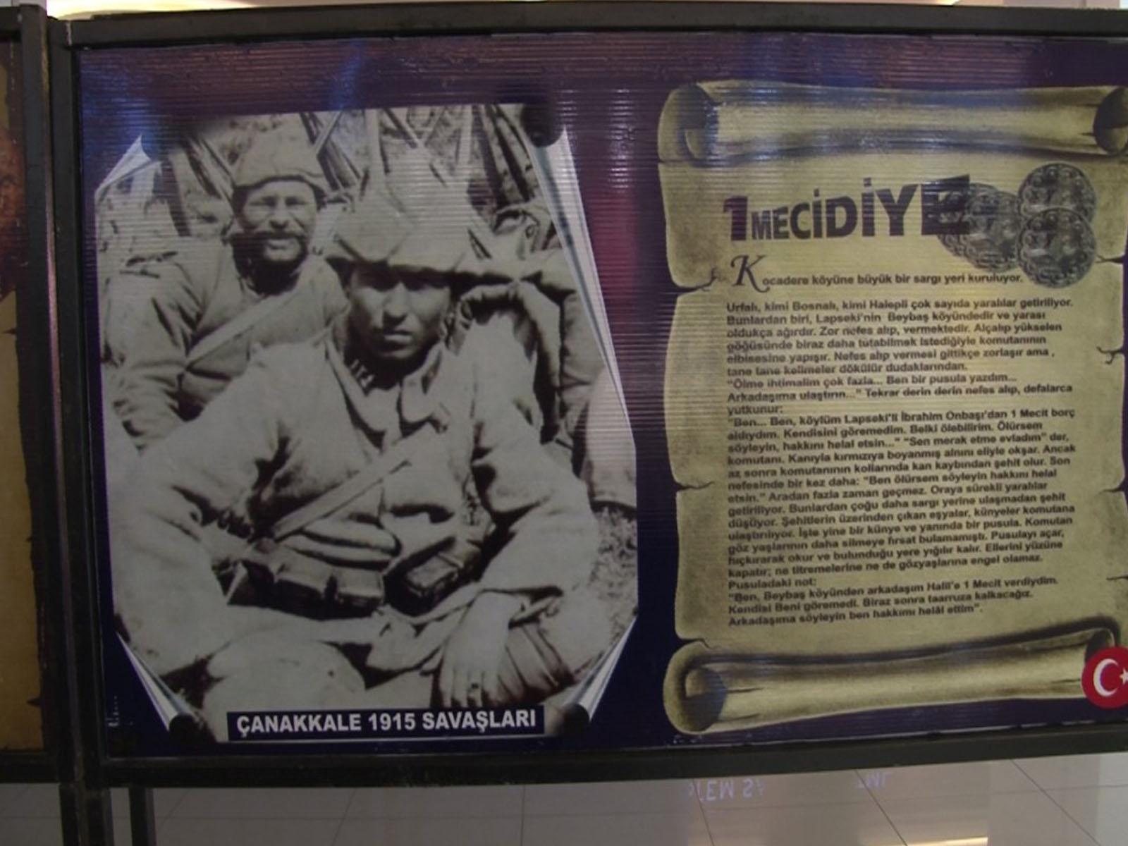 Çanakkale Gezici Müze sergisi açıldı