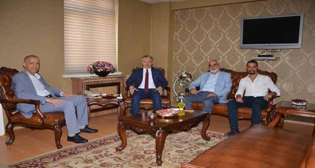 Çankırı Valisi Rektör Prof. Dr. Akın Levent'i ziyaret etti