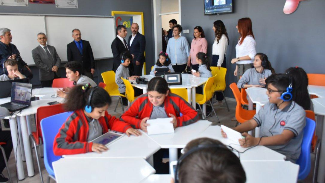 Cumhuriyet Ortaokulu FCL Sınıfı İle Avrupa FCL Ağına Dahil Edildi