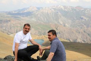 Erzincan Valisi Ali Arslantaş, Aygır Gölü'nde İncelemelerde Bulundu