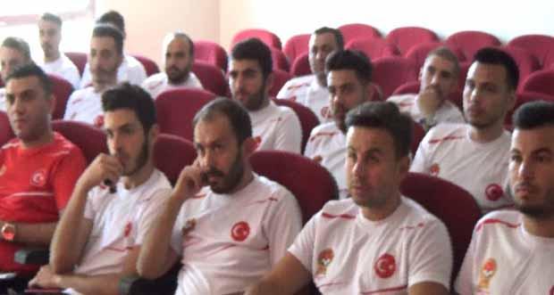 Erzincan'da Tff, C Antrenörlük Kursu başladı