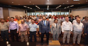 Erzincan İl Milli Eğitim Müdürlüğü tarafından Erzincan Lisesinde konferans düzenlendi