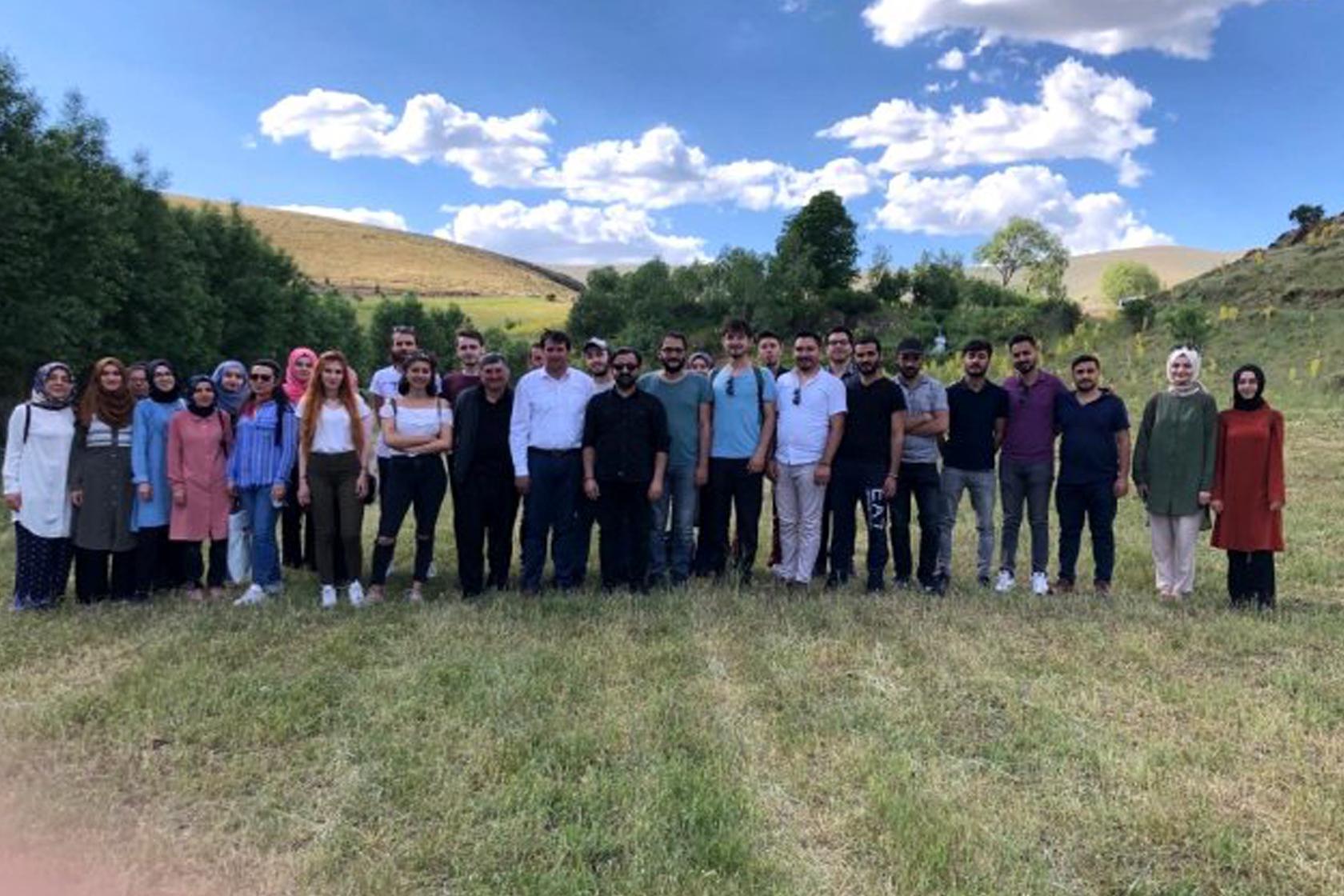 Erzincan Barosundan stajyer avukatlara Otlukbeli gezisi