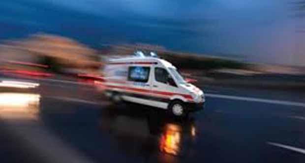 Pertek İlçesi'nde Kaza
