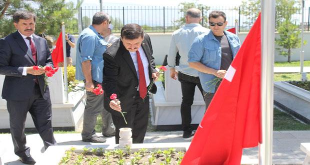 Terzibaba Askeri Şehitliğinde Anma Töreni Düzenlendi