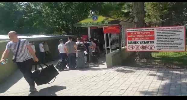 Kısa dönem askerler Erzincan'da