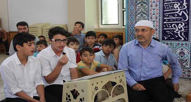 Cami, Çocuk ve Aile Buluşması Programı Düzenlendi
