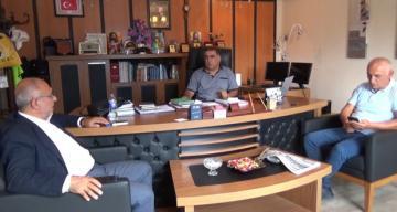 Öztürk'den ERT Şah TV'ye Ziyaret