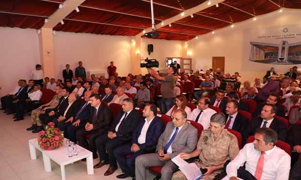 Erzincan Valisi Ali Arslantaş,Muhtarlar İle Biraraya Geldi