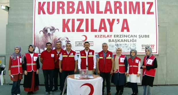 Mumcu; vatandaşları Türk Kızılay'ına kurban bağışına davet etti