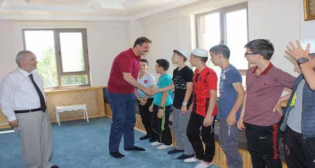 Gençlik ve Spor Bakanlığı Bakan Yardımcısı Sinan Aksu, Pîr-i Sami Kursumuzu Ziyaret Etti