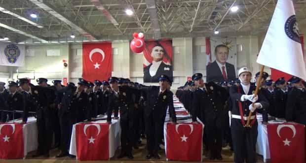 Erzincan Pomem'de Mezuniyet Töreni