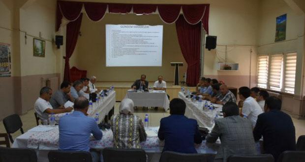 İlçe Millî Eğitim Müdürleri Toplandı
