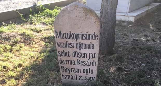 Şehidimize layık bir anıt mezar oluşturulmalı
