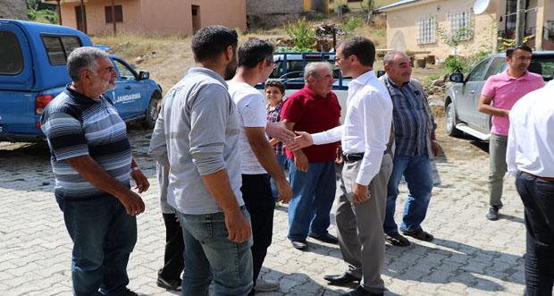 iliç Kaymakamı Hicabi Aytemür köy ziyaretlerine devam ediyor
