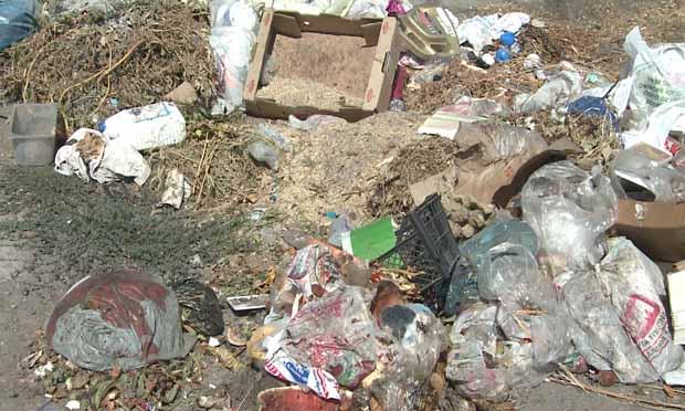 Biriken çöplere vatandaş tepkili