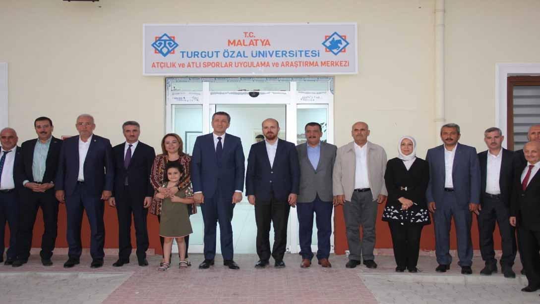 Milli Eğitim Bakanı Ziya Selçuk, Malatya Turgut Özal Üniversitesi'ni ziyaret etti