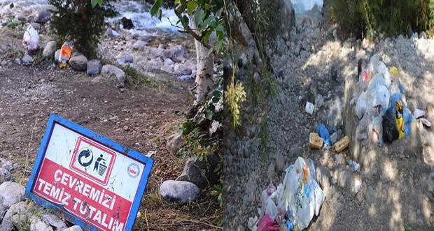Munzur Vadisi Çöplerle Kirletiliyor