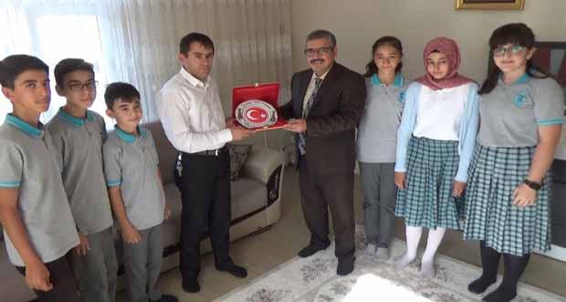 15 Temmuz Gazisine Öğrencilerden Ziyaret