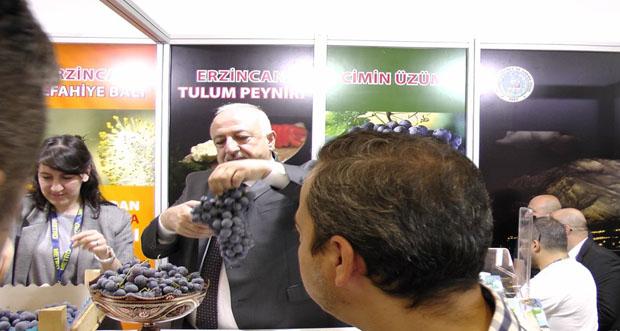 Erzincan standı büyük ilgi gördü