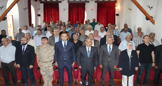 Kemaliye Kaymakamı Başkanlığında güz dönemi meclis ve güvenlik toplantısı yapıldı