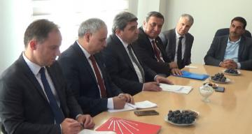 CHP Heyeti Erzincan'da