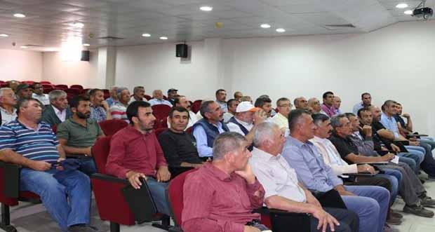 Bilgilendirme toplantıları yapıldı
