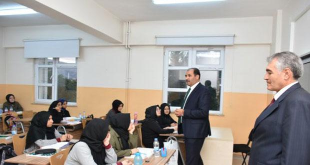 TOBB Binali Yıldırım Kız Anadolu İmam Hatip Lisesi Gönüllü Akşam Etütleri Başladı