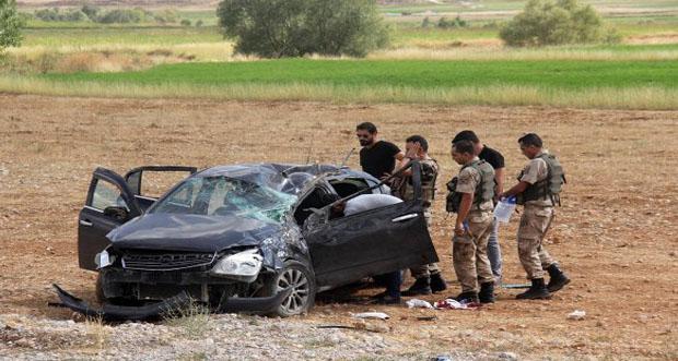 Tunceli 'de meydana gelen kaza da bir kişi hayatını kaybederken dört kişi de yaralandı