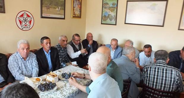 Üzümlü Kültür Derneği Ankara'da yöresel ürünlerle hemşerilerimizi ERDEF'te buluşturdu