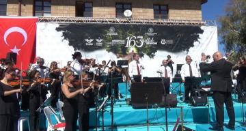 Tarihi Erzincan Garı'nda 163.Yıl Coşkusu