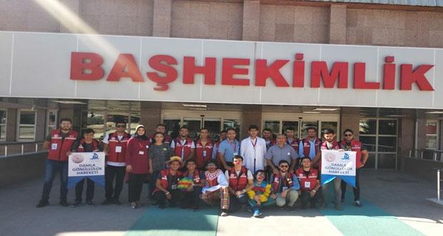 Damla Gönüllüleri Hareketi hastanemizi ziyaret ettiler