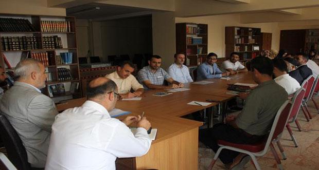 Gençlik Hizmetleri Değerlendirme Toplantısı Yapıldı