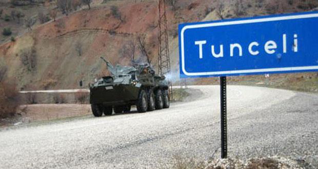 TUNCELİ'DE OPERASYON
