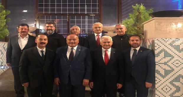 """81 ildeki il Başkanları Ankara'da yapılan """"İstişare ve Değerlendirme Toplantısı'nda"""" bir araya geldi"""