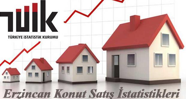 Erzincan'da 2019 Eylül ayında 309 konut satıldı