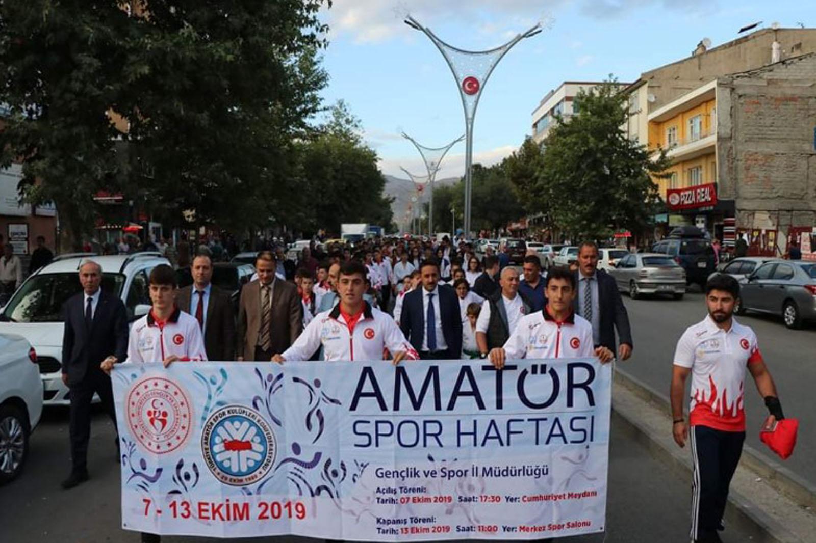 Erzincan'da Amatör Spor Haftası Başladı