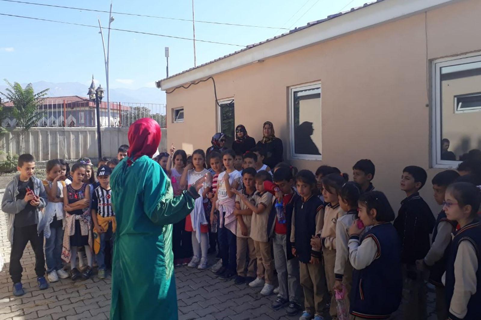 Öğrenciler ziyaret etti