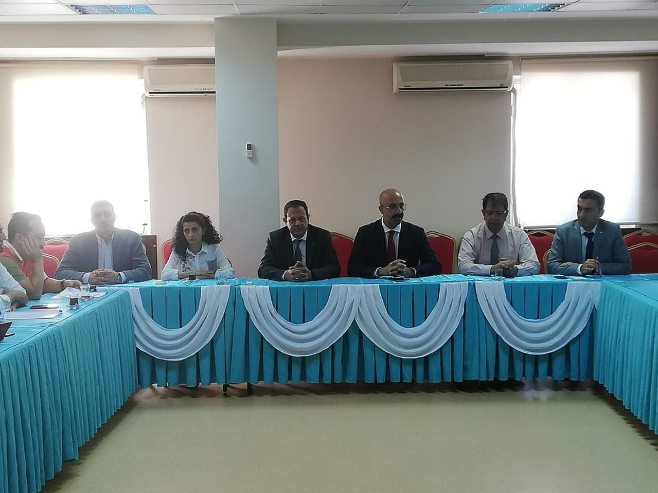 ASKOM (Acil Sağlık Hizmetleri Koordinasyon Komisyonu) toplantısı gerçekleştirilmiştir