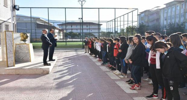 İl Millî Eğitim Müdürü Aziz GÜN Erzincan Spor Lisesi'ni ziyaret etti